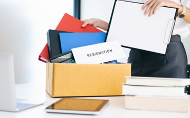 Resignation documents